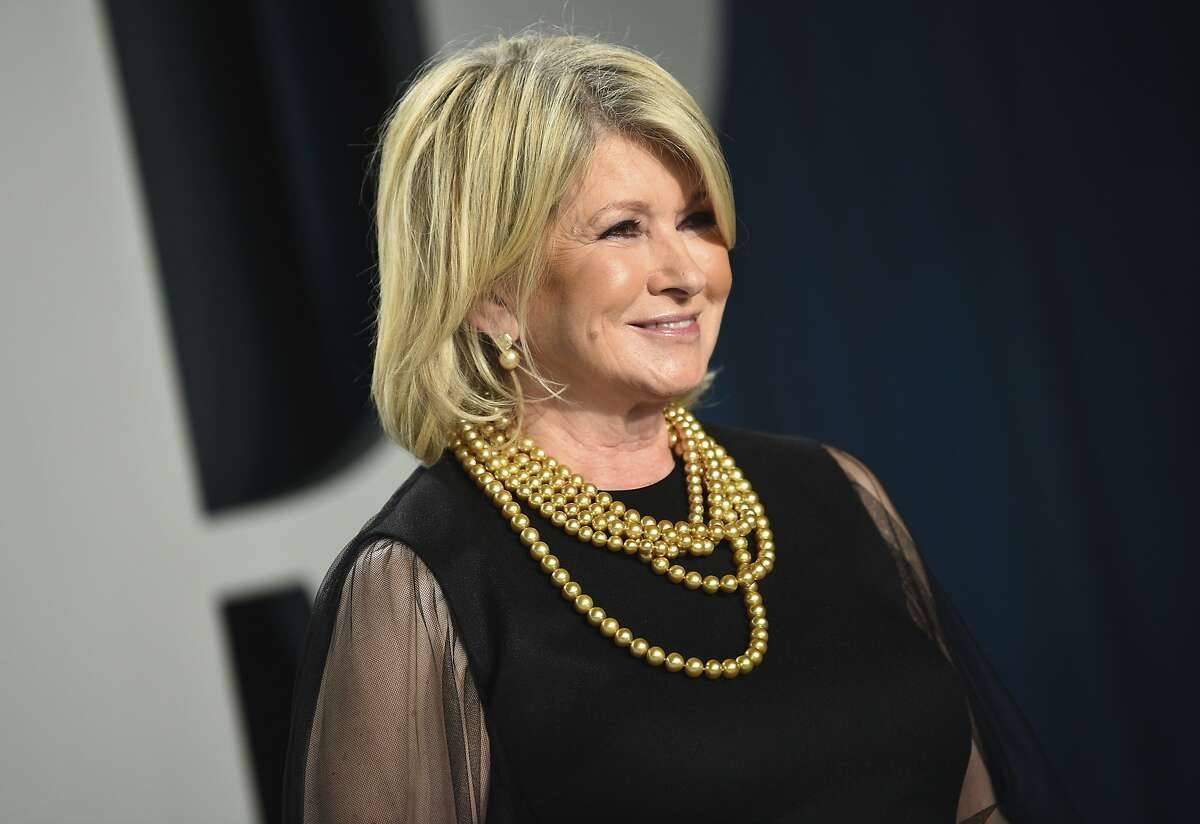 Martha Stewart arrives at the Vanity Fair Oscar Party on Sunday, Feb. 9, 2020, in Beverly Hills, Calif. This is just the latest in celebrity collaborations for Stew Leonard's. The food store recently announced that it is carrying a line of coffee by Martha Stewart. Stewart, who is a longtime friend of the Leonard family, has released various food products at the store over the years, Leonard said.