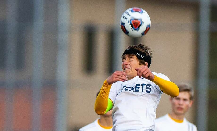 The Bad Axe boys soccer team opened the 2020 season with a 6-0 win over Harbor Beach on Wednesday. (Tribune File Photo) / Quad N Productions