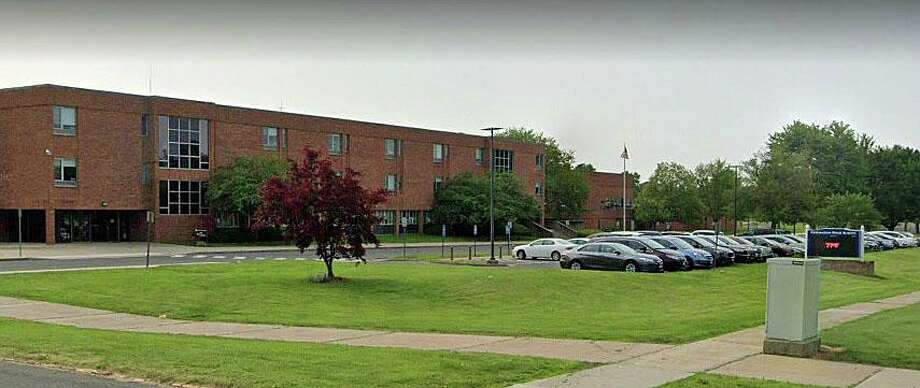 A Google streetview screenshot of the Newington, Conn., High School campus. Photo: Contributed Photo