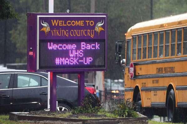 Westhill High School, on Thursday, Sept. 10, 2020.