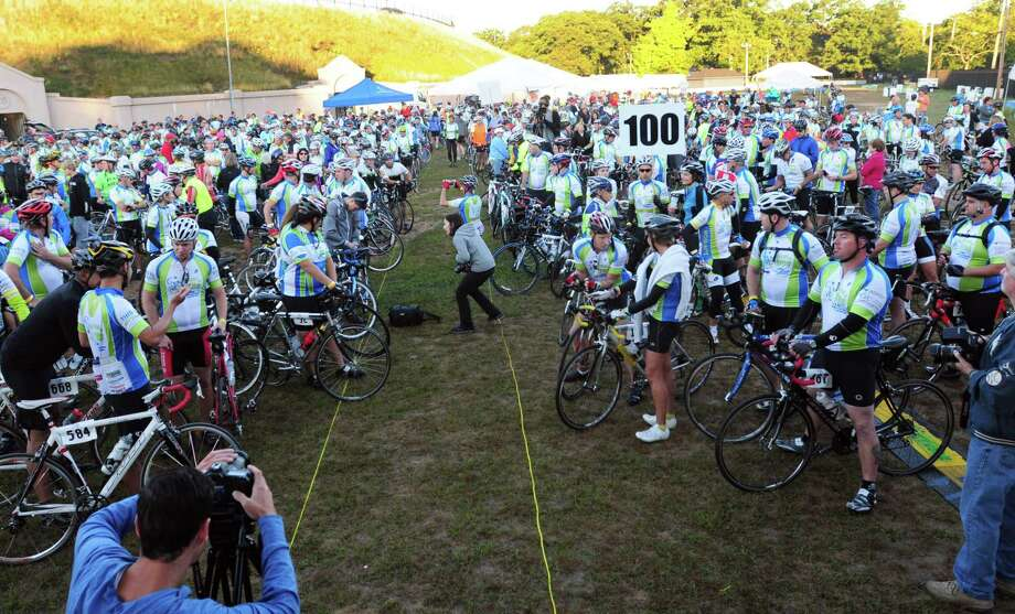 Riders participating in the Closer to Free Ride in 2013. Photo: File Photo / ©Peter Hvizdak /  New Haven Register