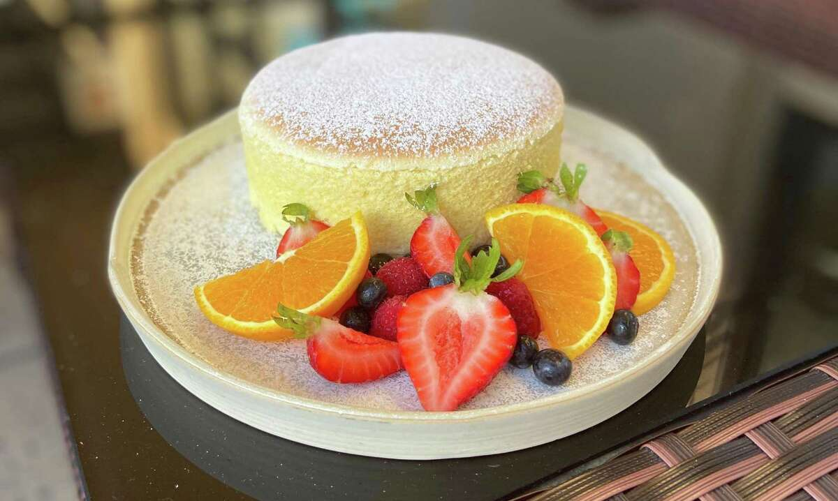 Tobiuo Sushi & Bar is now offering its own take on Japanese souffle cheesecake, crowned with powdered sugar and fresh berries. Available by pre-order only.