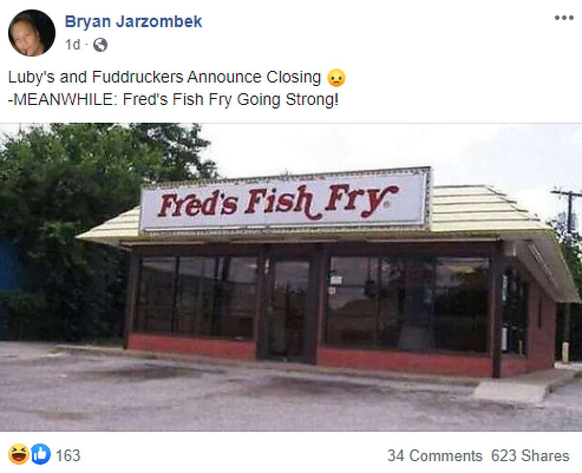 Bryan Jarzombek: Luby's and Fuddruckers Announce Closing - MEANWHILE: Fred's Fish Fry Going Strong!