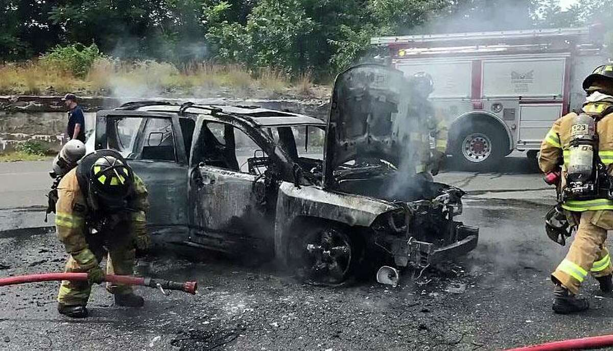 A Waterbury teen is being called a hero for saving a mother and her three children from a burning car on Wednesday, Sept. 9, 2020. Justin Gavin, 18, was honored by the police department shortly after the incident. In a video posted on Facebook, Waterbury police Capt. Michael Dasilva also explained the scene: