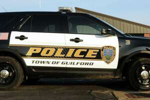 Guilford Police Department vehicle
