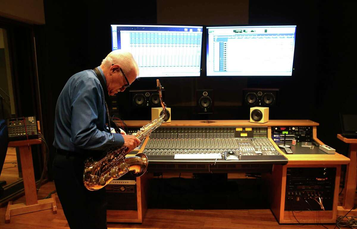"""Jim Waller, who directs the Cardinal Jazz Band at Incarnate Word, pulled together songs he has been working on for years, along with standards, for his big band album """"Bucket List."""""""