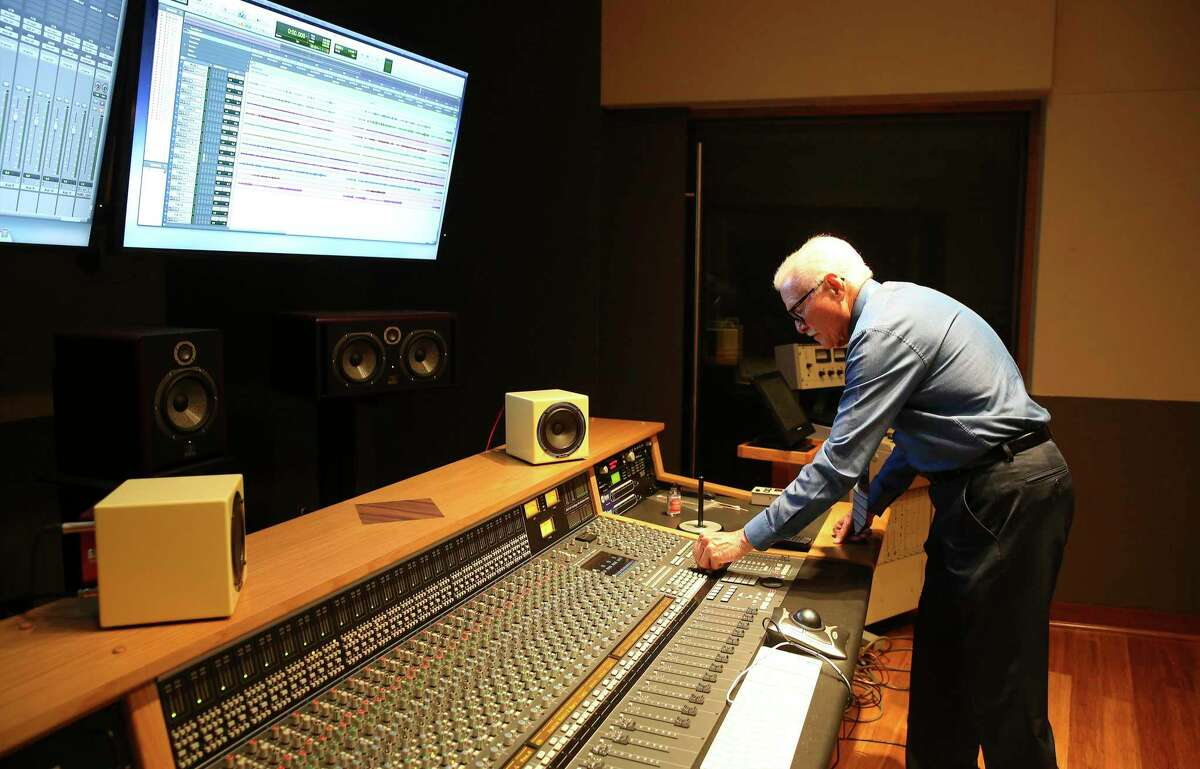 Jim Waller used the University of the Incarnate Word's state-of-the-art recording studio to make his debut album.