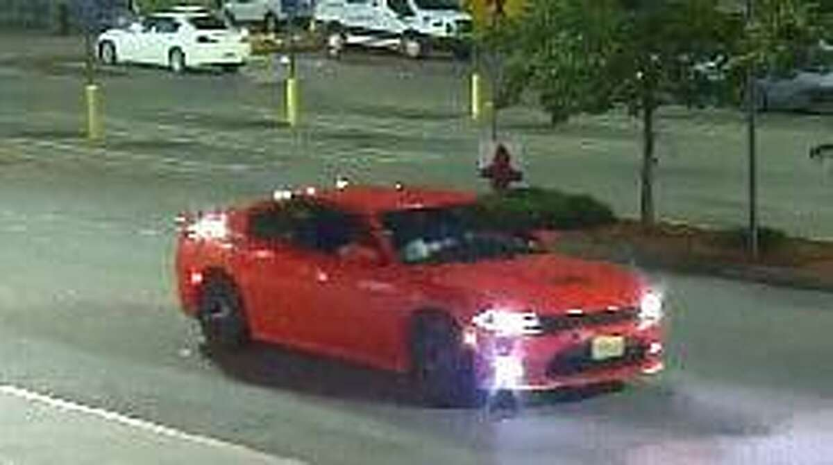 Naugatuck police say this vehicle might have been linked to a recent attempted shoplifting at Walmart.