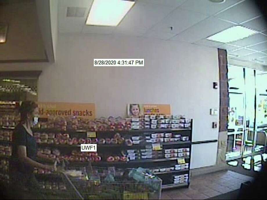 The Putnam Police Department is seeking assistance in identifying two suspects related to a larceny/shoplifting incident that occurred on Friday, Aug. 28, 2020 at a business in Putnam. Two female suspects can be seen in the attached photos released by police Thursday, as well as the suspects' vehicle. Photo: Putnam Police Department Photo