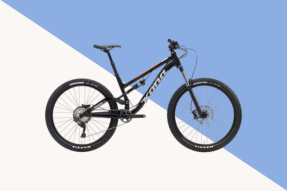 The Kona Process 134 is the best overall budget mountain bike according to our experts. Photo: Kona Bikes/Hearst Newspapers