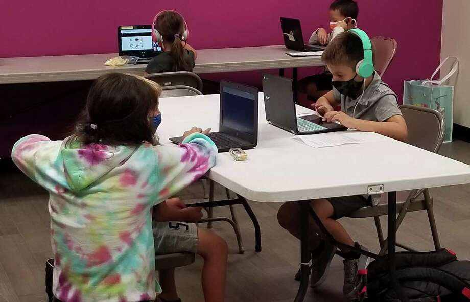 In addition to before and after school, the Y launched a new Y Learning Center program for children who are distance learning while families need to work. Photo: Contributed / Woodruff Family YMCA