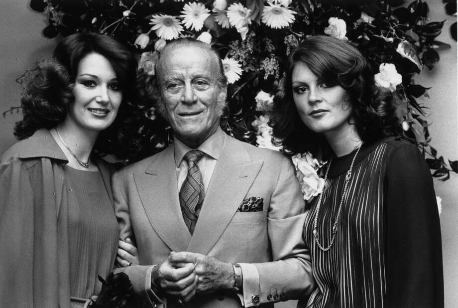 FILE: Fashion designer Aldo Gucci, at the opening of his new shop at Bond Street, London in 1977. Photo: John Minihan/Getty Images