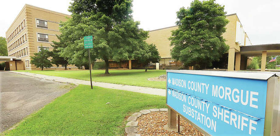 County officials continue to debate whether to renovate or raze the Madison County Building in Wood River, which houses a few county offices including the morgue. The facility also is the old Wood River Township Hospital building.