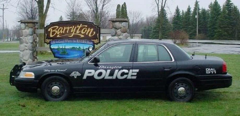 Barryton Police Department Photo: Courtesy Of Barryton Police Department Facebook