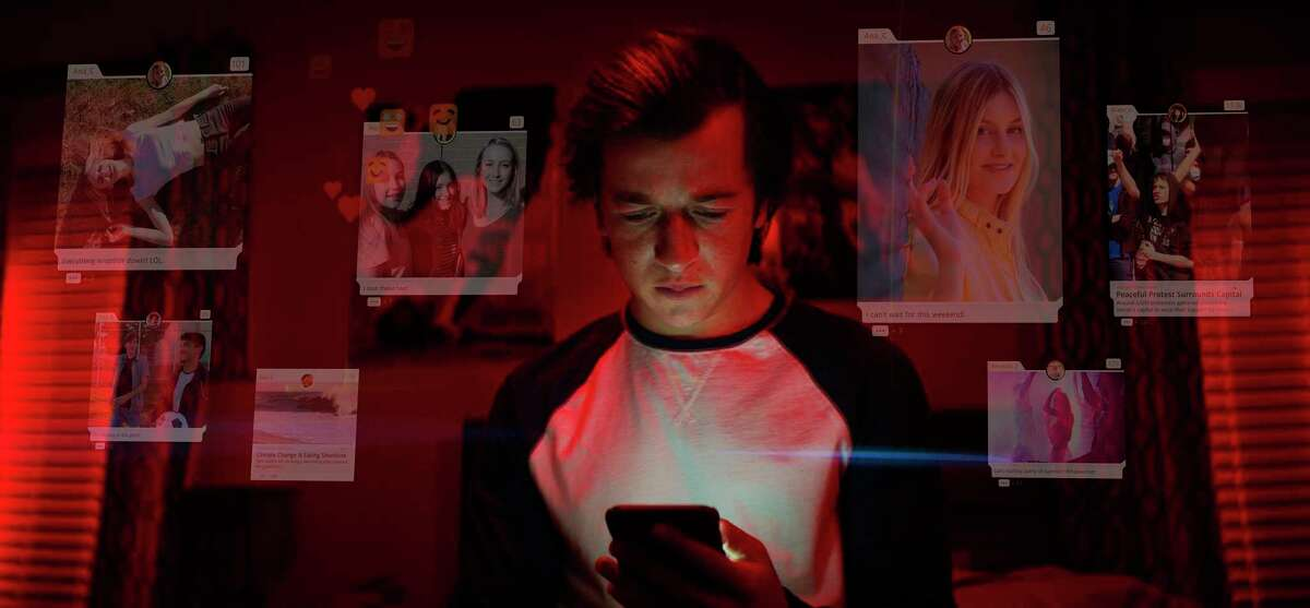 This image released by Netflix shows Skyler Gisondo in a scene from
