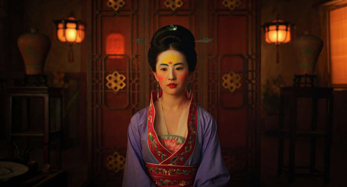 """Yifei Liu stars in the re-make of """"Mulan."""" Disney filmed parts of the movie in China and in its credits, thanks Chinese propaganda departments as well as a public security bureau in the province of Xinjiang, where Beijing is carrying out its hideous campaign against the Uighurs."""