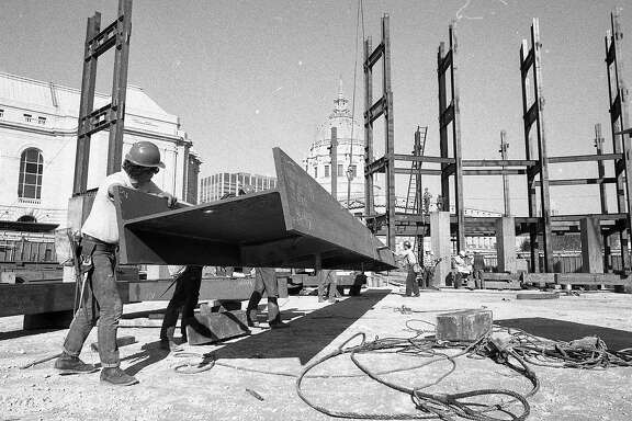 Construction work on  the San Francisco Performing Arts Center goes on November 17, 1978 It would be named Davies Symphony Hall