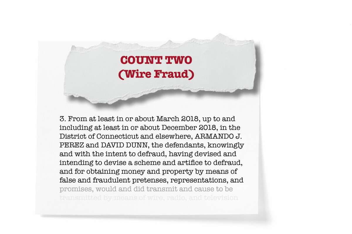 Count two: Wire fraud