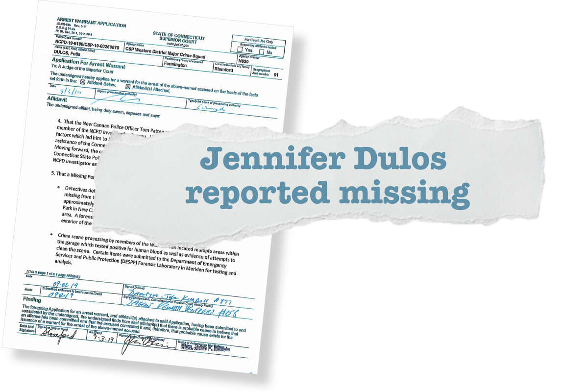 Jennifer Dulos reported missing