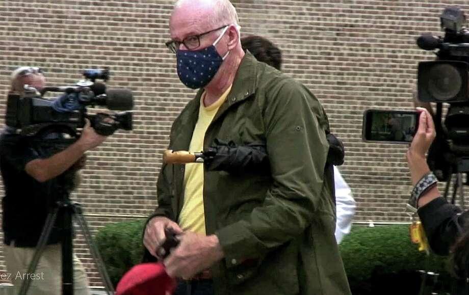 David Dunn to make a guilty plea. Photo: Christian Abraham / Hearst Connecticut Media / Connecticut Post