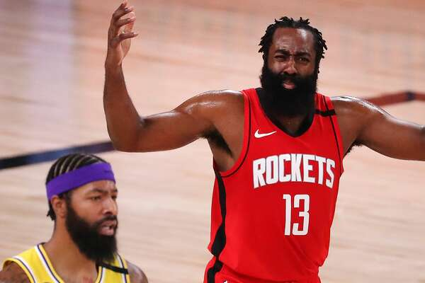 Rockets Fall Flat In Game 4 Loss To Lakers Trail Series 3 1 Houstonchronicle Com