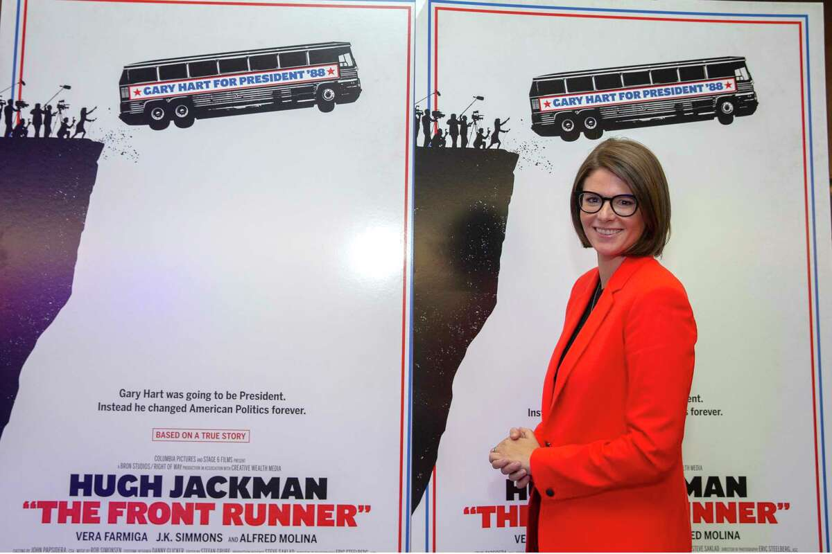 WASHINGTON, DC - OCTOBER 03: Kasie Hunt of NBC News attends the DC Special Screening Of THE FRONT RUNNER at the Smithsonian National Museum of American History on October 3, 2018 in Washington, DC. (Photo by Tasos Katopodis/Getty Images for SPE, Inc.)