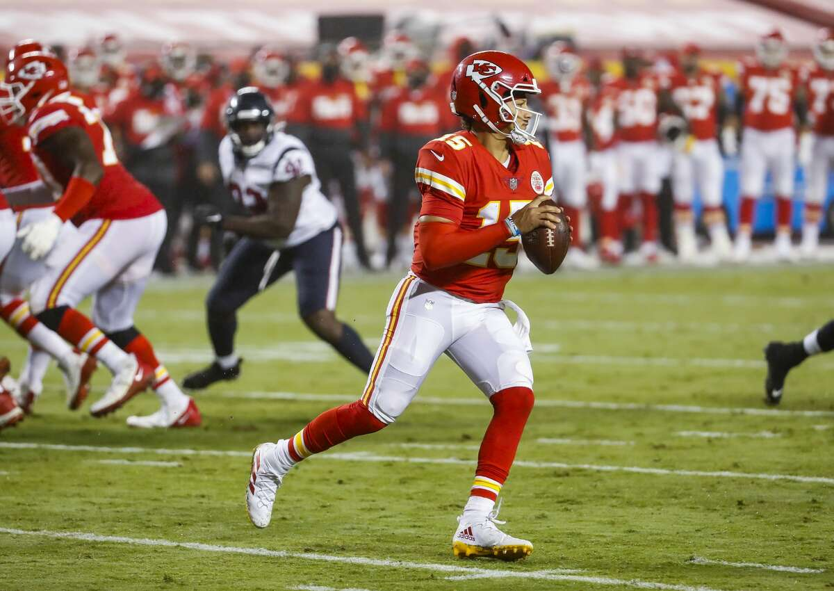 Patrick Mahomes and the Chiefs have been on a roll all season since starting with win over Texans.