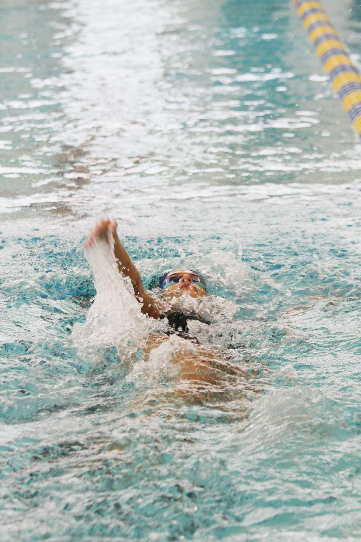 The Manistee girls swimming team topped Fremont on Thursday in its season opener.