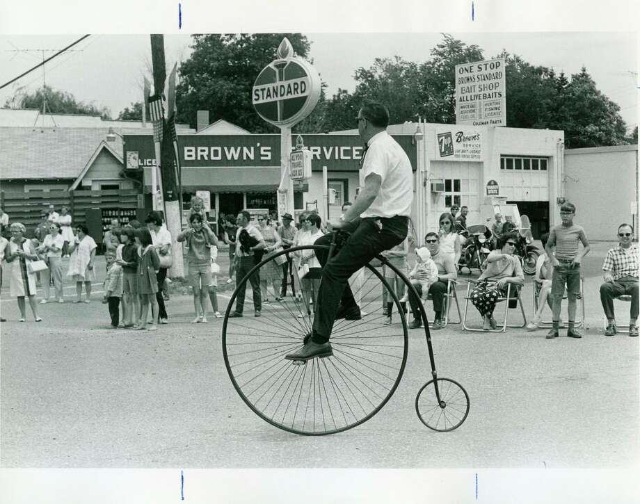 This is a Daily News file photo from an old parade in Sanford.