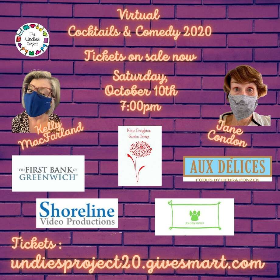 The Undies Project will be hosting its annual fundraiser event Cocktails & Comedy Saturday, Oct. 10, at 7 p.m. via Zoom. Photo: The Undies Project