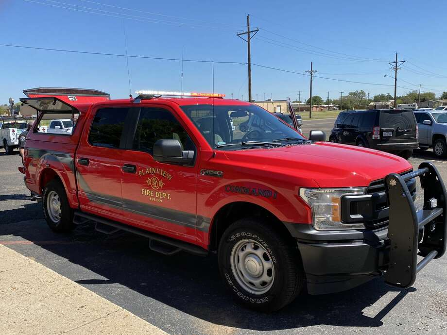 City of Plainview Fire Department recently put a new command vehicle into service. The 2020 Ford F-150 will be known as Command 1 and will be the vehicle driven by the shift commander on a day-to-day basis responding to emergency calls. It replaces the 2007 Suburban that was previously driven by the shift commanders. Photo: Provided By Plainview EMS/Fire