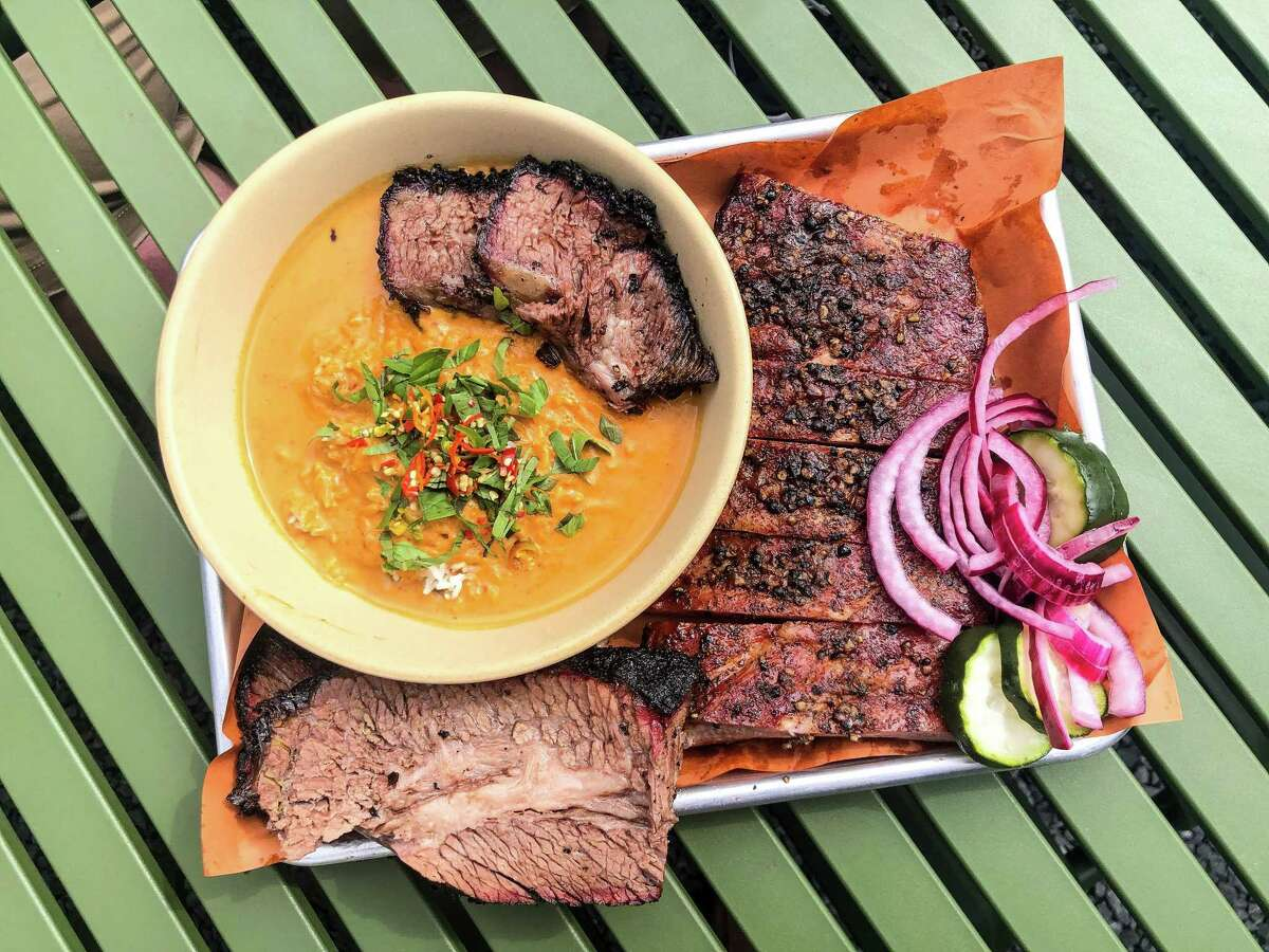 Beef rib panang curry from Khoi Barbecue