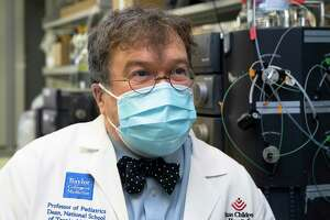 Peter Hotez, co-director of Texas Children's Hospitals Center for Vaccine Development, talks about developing vaccine for COVID-19. The lab has been working to develop vaccine for COVID-19 with yeast.
