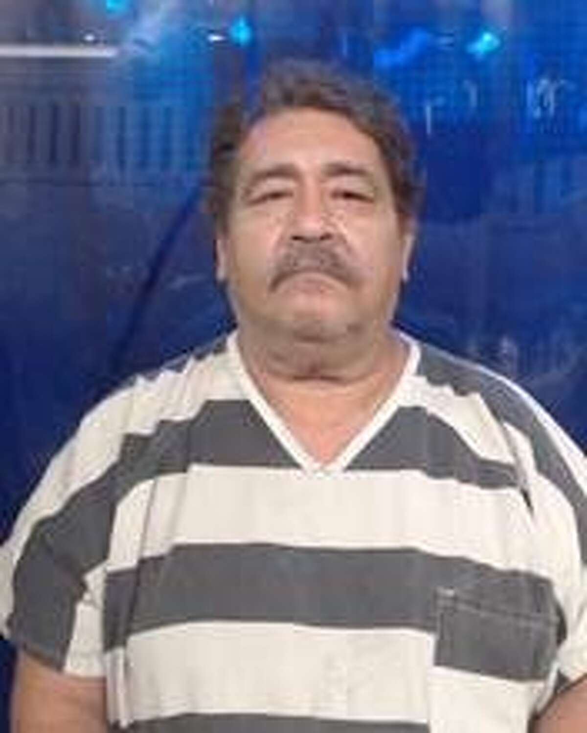 Gustavo A. Rodriguez Jr., 60, was served with warrants charging him with deadly conduct by discharging a firearm and criminal mischief.