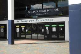 A Wilton High School student has tested positive for COVID-19.