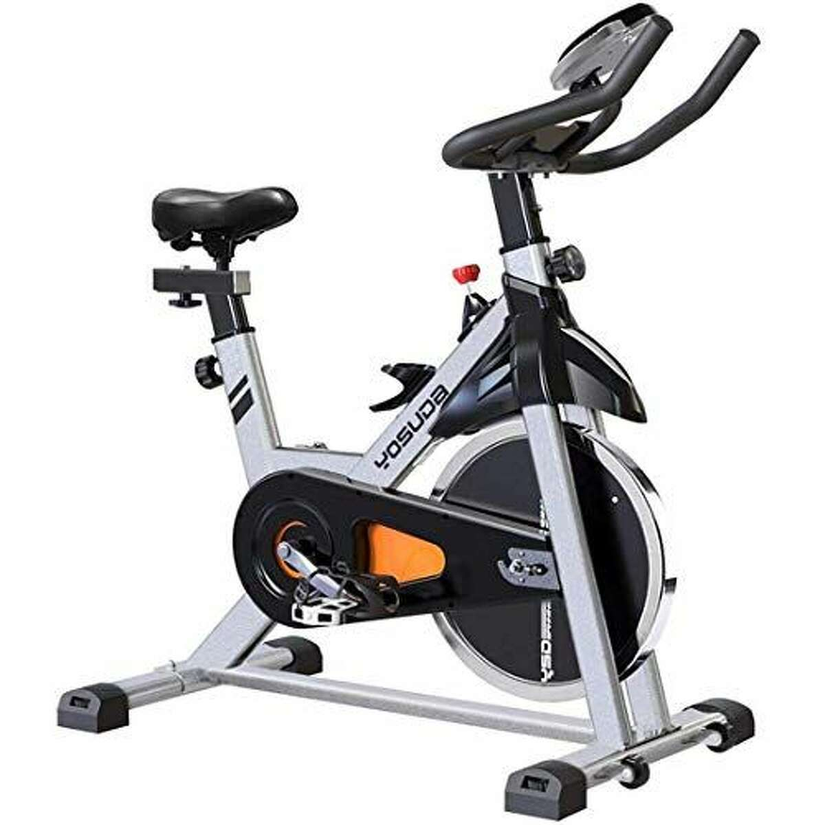 1) YOSUDA Indoor Cycling Bike Stationary : $339.99 CHECK PRICE The YOSUDA. Haven't you heard of it? That's probably because the company only makes exercise bikes. This is a super quiet, belt-driven bike that won't drown out the TV while you're getting in your afternoon workout. Overall, the YOSUDA is a good bike with a killer 30-day full refund guarantee and 1-year free parts replacement warranty. While this bike is definitely made with the budget-conscious in mind, it's also one of the most highly rated on Amazon with over 700 reviews and 4.3/5 stars as of this writing.