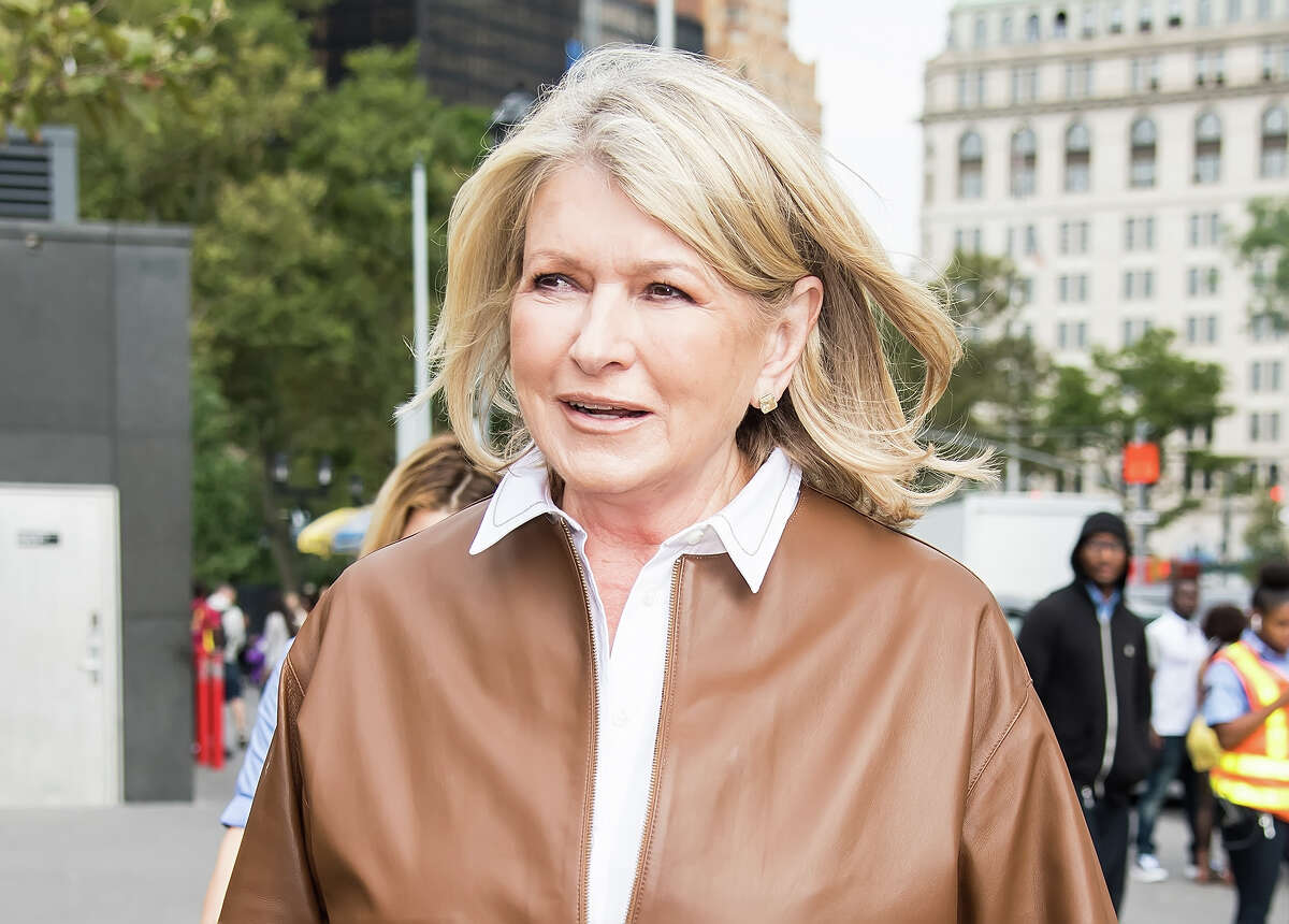 Martha Stewart has teamed up with Canopy Growth to unveil her new line of 100 percent hemp-derived, cannabidiol (CBD) filled gummies, softgels and oil drops. (Photo by Gilbert Carrasquillo/GC Images)