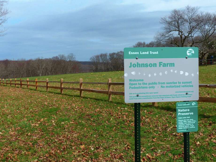 The Essex Land Trust is starting up its outdoor hikes, with the first to Johnson Farm, Sept, 19 at 10 a.m. Photo: Contributed Photo / © Jim Denham
