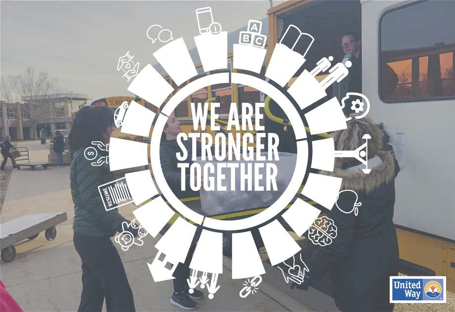 """Stronger Together"" is the theme of the United Way of Midland County's 2020 Campaign, which officially kicks off Monday, Sept. 14. (Provided photo)"