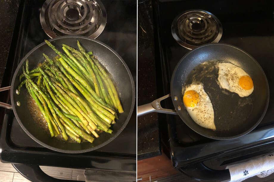 Ninja™ Foodi™ NeverStick™ Premium Hard-Anodized Fry Pan, Starting at $29.99 Photo: Ana Suarez