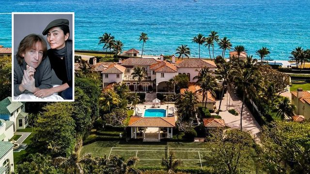 Massive Palm Seaside Estate Once Owned by John Lennon Is Beneath Contract thumbnail