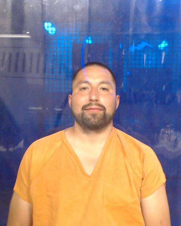 Blas Perez Jr., 36, was arrested and charged with violation of a protective order. Photo: Courtesy
