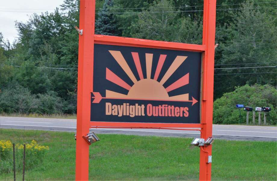 Daylight Outfitters, a new archery shop and axe-throwing center, is located at 664 W. Isabella St./M-20 in Midland. (Ashley Schafer/Ashley.Schafer@hearstnp.com)
