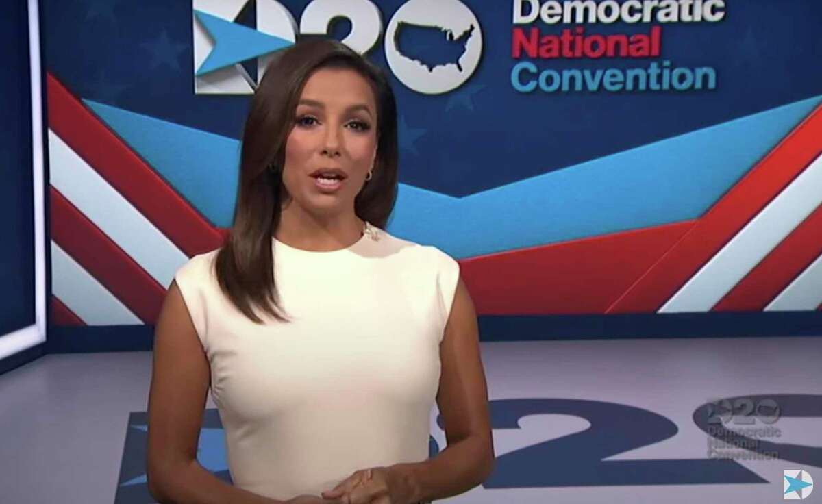 Actress Eva Longoria Bastón doesn't have to be politically involved. As an American, she considers it her duty.