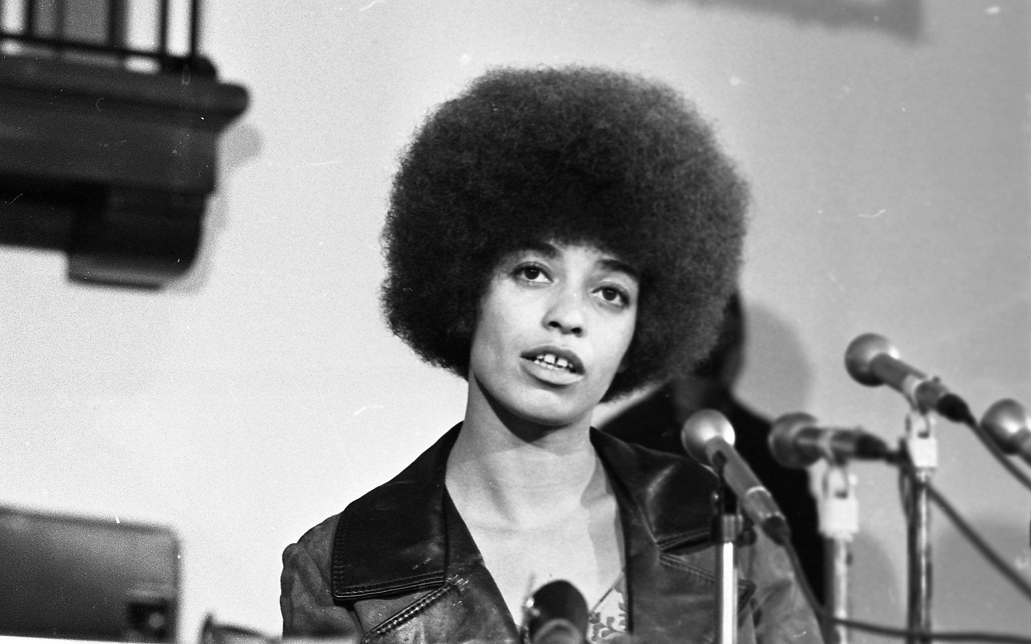 Angela Davis' early California days - before and after her infamous trial