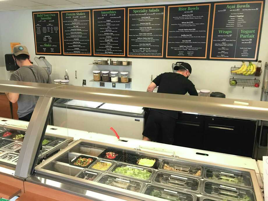 Fresh Greens & Proteins is one of the new eateries participating in the 10th Restaurant Week in Hamden. Photo: Clare Dignan / Hearst Connecticut Media /