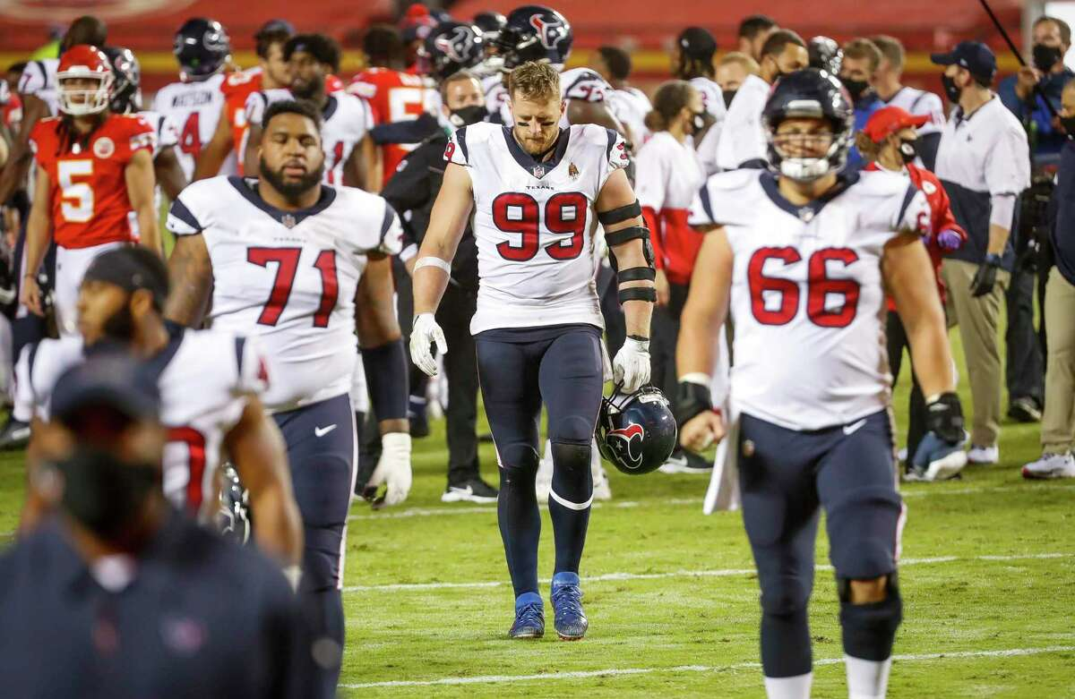 The Texans could only hang their heads and walk off the field after an opening loss to Kansas City.