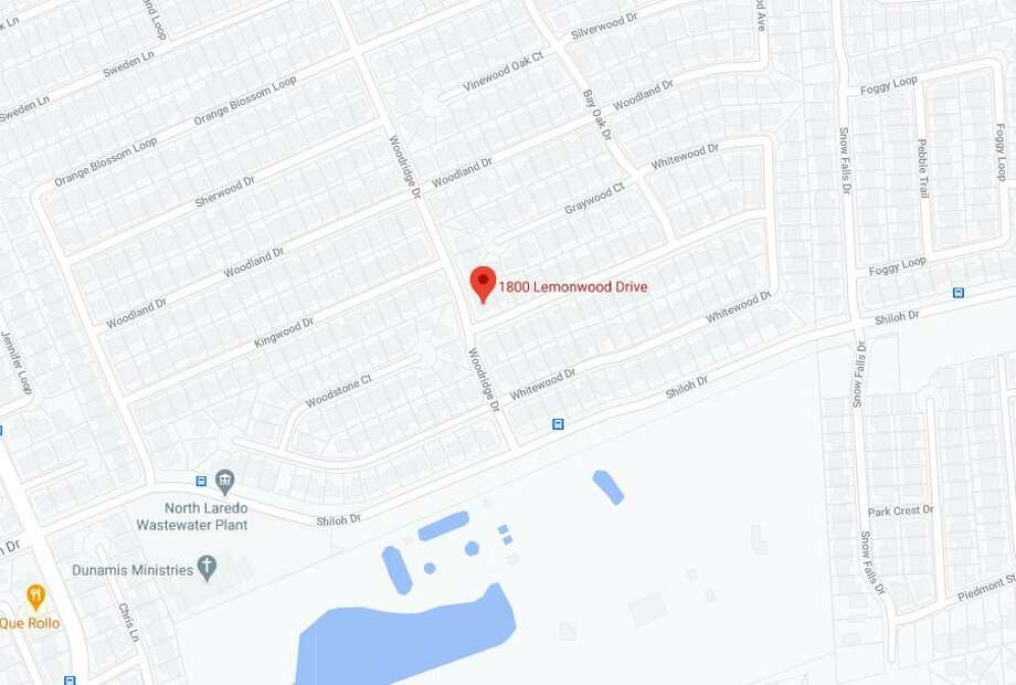 A shooting was reported Friday night in the 1800 block of Lemonwood Drive in Laredo. Photo: Google Maps
