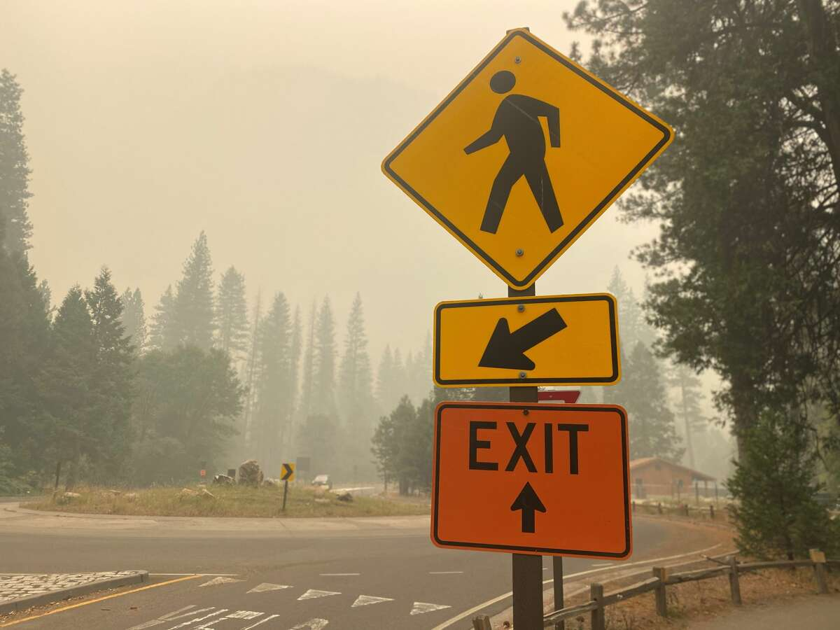 The air quality in Yosemite National Park has been hazardously low.
