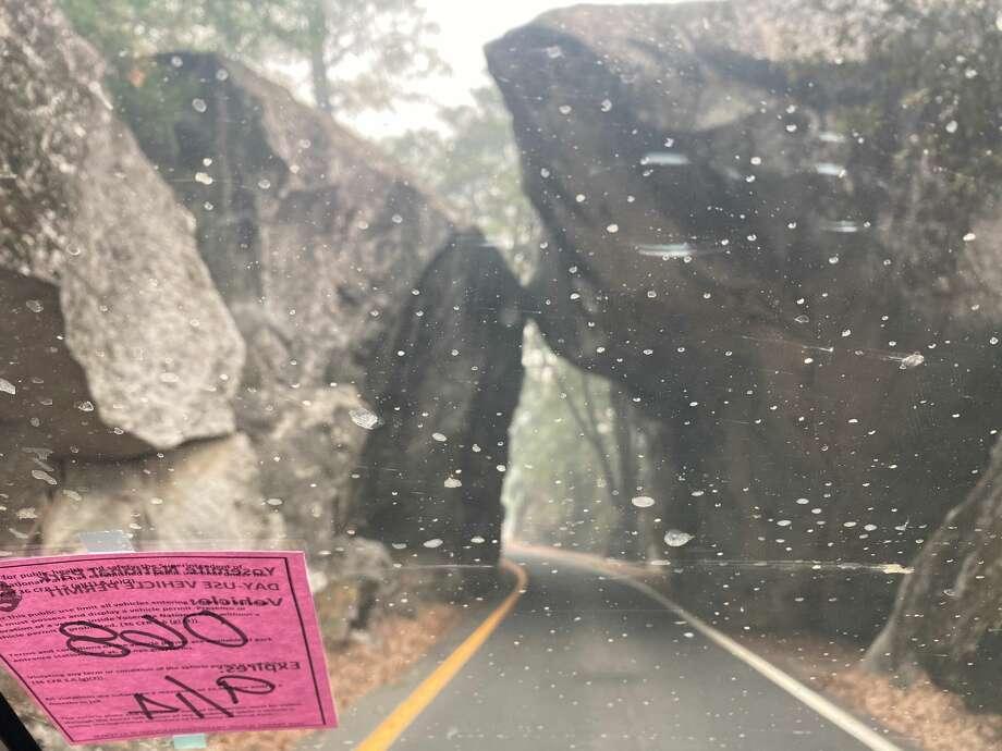 The El Portal entrance to Yosemite National Park. Photo: Ashley Harrell